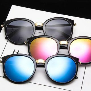🚚 🔥HOT🔥 Korean Design Black and Blue Oversized Sunglasses