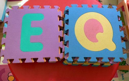 🚚 A to Z alphabets foam puzzle mat