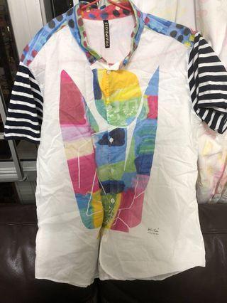 Sale Frapbois 藝術風恤衫