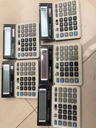 Keperluan ATK Kantor steples, kalkulator, pembolong kertas