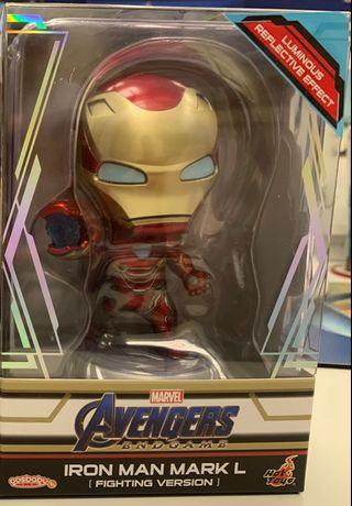 Hottoys cosbaby Ironman Mark 50 fighting version uv effect not Thor captain America black widow Loki thanos