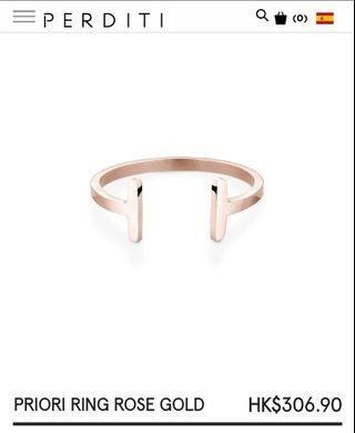 PERDITI PRIORI RING ROSE GOLD