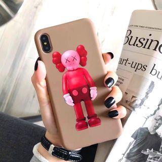 KAWS 暴力熊全包手機殼軟殼 Apple iPhone case