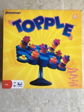 Topple Board Game by Pressman