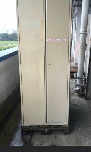 Tall steel Filing Cabinet / 2 Door Metal Cabinet (3pcs)@$80 each