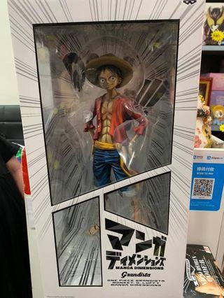 海賊王 One Piece 海外限定一番賞 Banpresto Grandista 路飛 Luffy 2D色 景品 全新行版