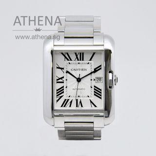CARTIER TANK ANGLAISE XL AUTOMATIC W5310008 WITH BOX & CERT  JGWCT_005