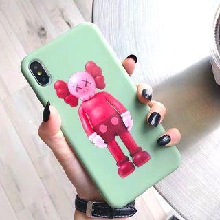 KAWS 暴力熊薄荷綠全包手機殼軟殼 Apple iPhone case
