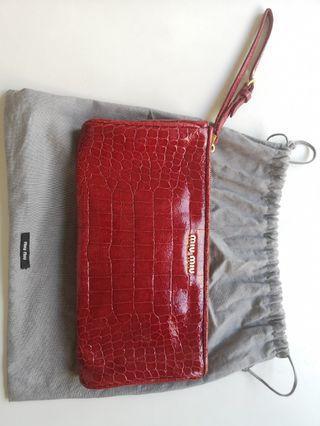 Preloved Miu Miu Clutch Bag