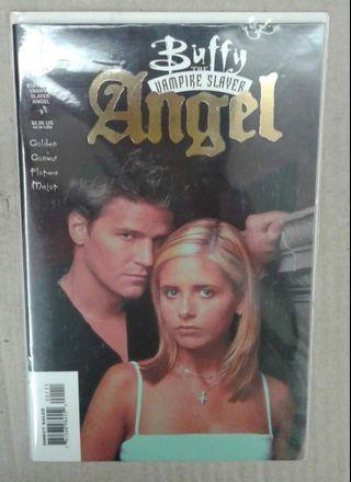 Buffy The Vampire Slayer: Angel  #1 ( Gold Foil Cover )