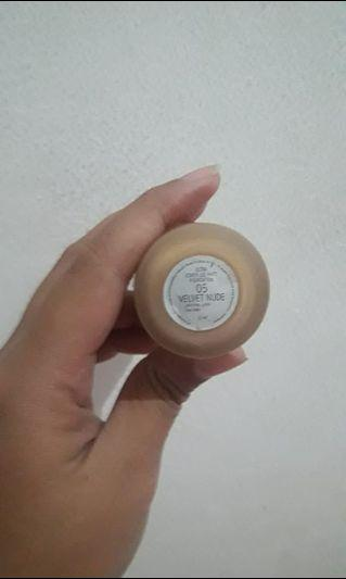 matte foundation make over shade velvet nude (05)