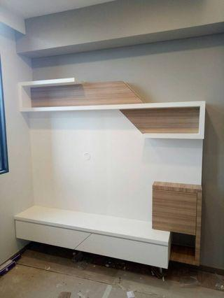 Built-in TV Console (fully Customized)