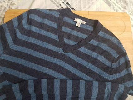 GAP Striped Sweater (Blue and Black)