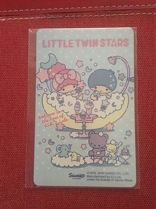 BN - Ezlink Card Little Twinstars - No load value, Expiry 2025