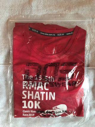 RMAC 15.5th Shatin 10k T-shirt Mens Size M