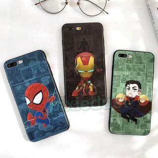 marvel superheroes spiderman / ironman / doctor strange phone casing