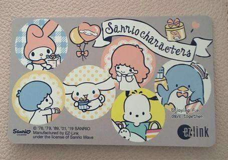 BN - Ezlink Card - Sanrio Characters- Expiry : 2025