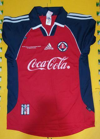 1999-07-24 南華對曼聯紀念球衣,adidas牌子