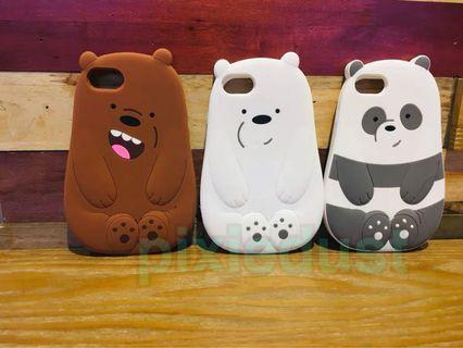 We Bare Bears phone casing