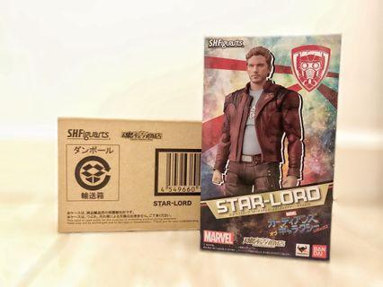 SHF Star Lord 魂限 全新 星爵 Banbai S.H.Figuarts Marvel Avengers Guardians of the Galaxy 銀河守衛隊 魂shop