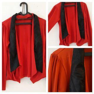 Red Cardigan jumbo