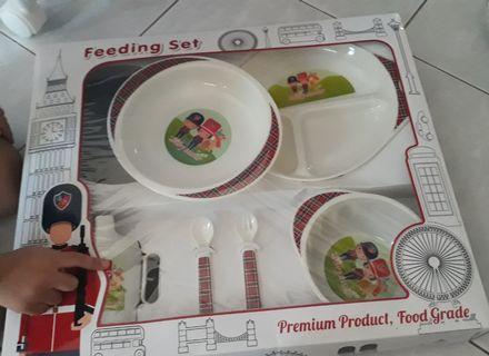 Baby scots feeding set / alat makan bayi