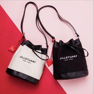 Jill Stuart Canvas Bucket Bag