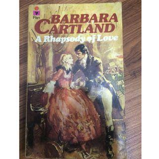 E11. A Rhapsody of Love by Barbara Cartland