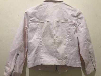 Jaket Jeans Pink