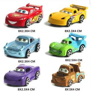 Party supplies: Cars Cake Toppers for Party Decoration (Set B)