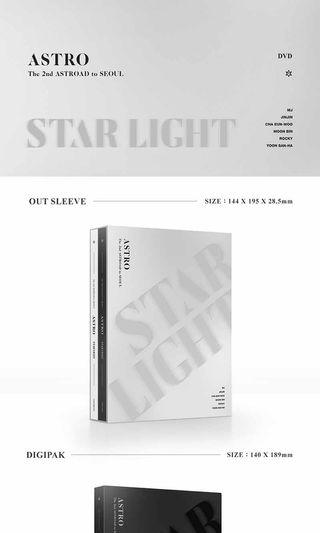 ASTRO - Astro The 2nd Astroad to Seoul (Star Light) DVD