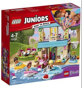 (New) LEGO 10763 Juniors, Stephanie's Lakeside House