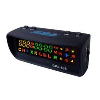 🚚 【全新現貨】南極星 GPS-838 單機版  公司貨 原廠保固一年 GPS 衛星定位 測速器