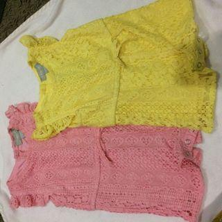 Lace Jumpsuit 3-6month and 6-9months