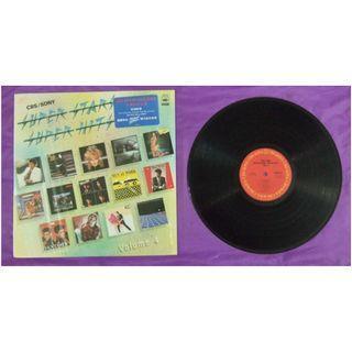 1983年《SUPER STARS SUPER HITS》黑膠唱碟- 附歌詞及MJ POSTER - SONY唱片公司出品