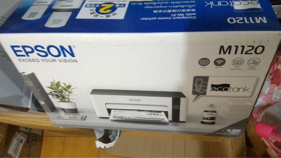 Eason M1120 印表機 9.9成新 三年保固 另送一組 墨水 補墨 艾普生