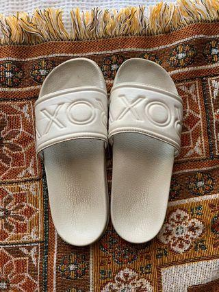White Roxy slides