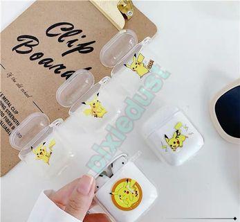 pikachu airpod casing