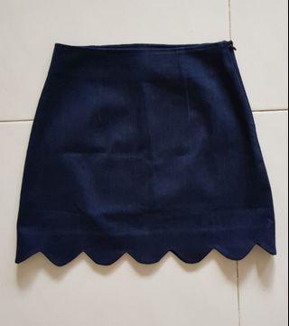 TCL Scallop Hem Skirt