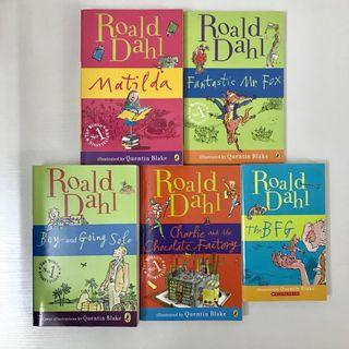 Roald Dahl - Matilda; Charlie and the Chocolate Factory