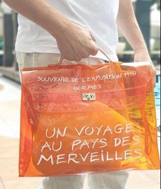 #BAPAU Hermes Orange Transparant Limited Edition