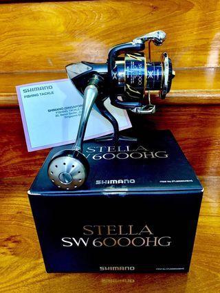 🚚 Shimano Stella SW6000HG