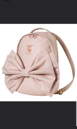 AUTHENTIC PUMA LIMITED EDITION PINK VALENTINE BOW BACKPACK