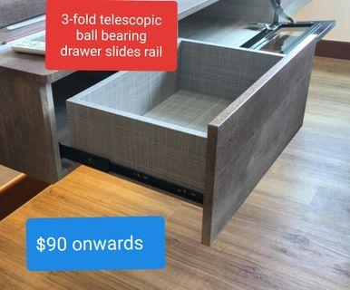 Drawer Track Slides Replacement