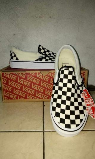Vans Slip On checkboard