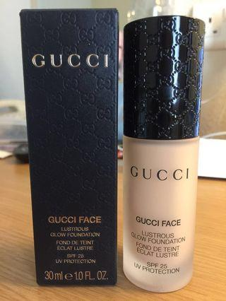 Gucci Face Lustrous Glow Foundation 防曬粉底液