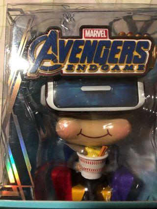 (全新) Hottoys Movbi Marvel Avengers End Game 復仇者聯盟 Movbi Cosbaby 眼鏡備LED亮燈功能