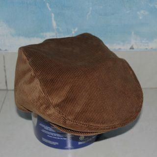 Topi Flat Cap or Gatsby Ivy Irish Corduroy Hat
