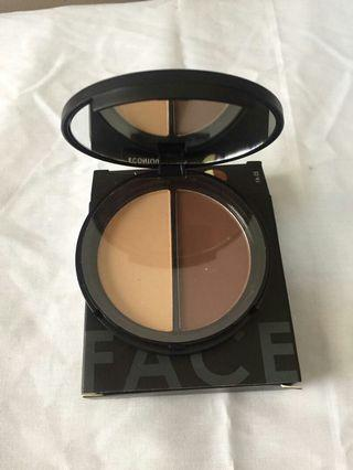 Focalure highlighter & bronzer duo shades 01