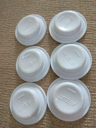 🚚 Philips avent sealing discs/ bottle cover x 6